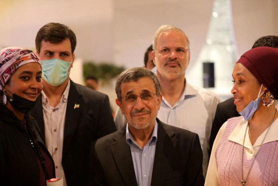 پیام احمدینژاد بعد از بازگشت از امارات