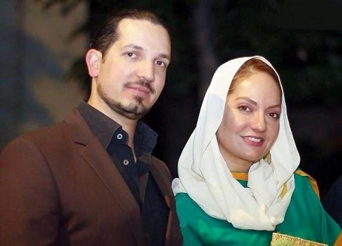 مهناز افشار و همسر سابقش