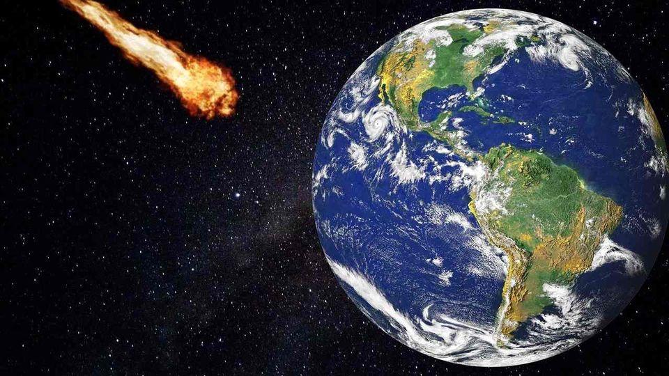 ماجرای برخورد یک سیارک به زمین چیست؟