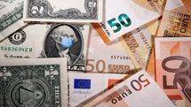 کاهش قیمت انواع ارز در بازار (چهارشنبه 5 آبان)